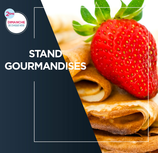 Stand gourmandises
